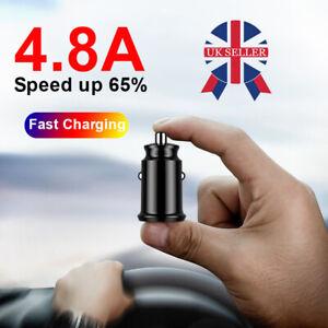 2 Way Car USB Cigarette Lighter Socket Charger Dual Fast Adapter 12v Universal