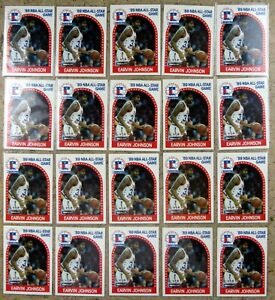 Earvin Magic Johnson 1989 NBA Hoops #166 20ct Card Lot