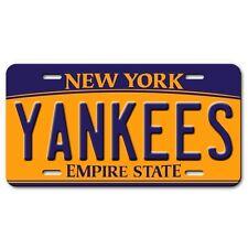 New York YANKEES  Aluminum Novelty Car Truck License Plate New