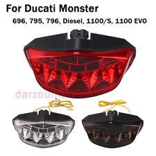 For Ducati Monster 696 795 796 Diesel 1100/S 1100 EVO LED Taillight Brake Lamps