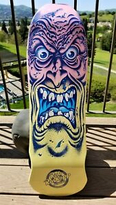 Rob Roskopp Pastel Fade Face VANS EXCLUSIVE Santa Cruz Skateboard Deck