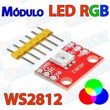 Modulo RGB LED WS2812 5050 direccionable tricolor - Arduino Electronica DIY