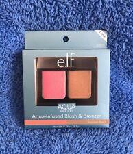 Elf Cosmetics Aqua-infused Blush And Bronzed Duo - Bronzed Peach -  MEL STOCK
