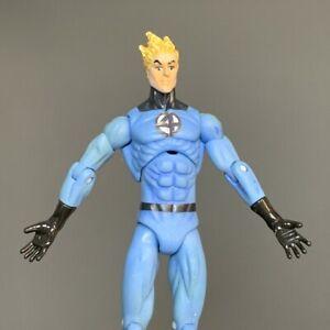 "Marvel Universe 3.75"" Human Torch #011 Light Blue Variant Action Figures Toys"