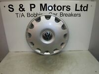 "Volkswagen Sharan 95-00 15"" Steel Wheel Hub Centre Cap Trim 7M0601147L"
