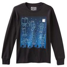 Boy's Minecraft Constellation Glow-in-the-Dark Tee, Size: SM, MSRP $22.00