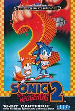 ## SEGA Mega Drive - Sonic The Hedgehog 2 / MD Spiel ##