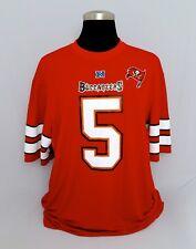 NFL Team Appareal NFL Tampa Bay Buccaneers Josh Freeman #5 MEN'S Jersey 2XL - A+