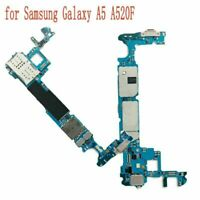 Original Replace Motherboard Circuit Board For Samsung Galaxy A5 A520F Unlocked