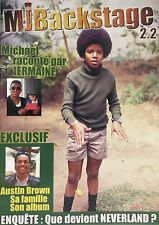 New Michael Jackson MJBackstage 2.2 Exclusif Austin Brown Sa Famille Son Album
