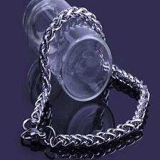 1PC Hommes Acier inoxydable Maillon de chaîne Bracelet Bangle Cadeaux