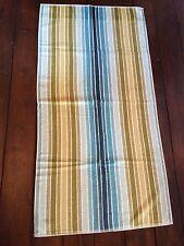 Sanderson Aqua Blue/Sea Green Multi Striped Bath Towel BNNT