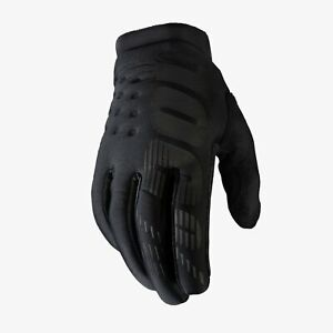 100% Brisker Youth Cold Weather Mountain Bike Gloves