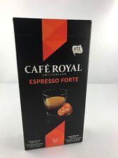 40 cafe royal cápsulas para nespresso Classic espresso forte 16 variedades 5,78 €/100gr