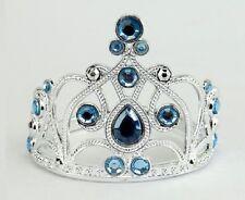 Lovvbugg Blue Diamond Tiara Crown for 18'' American Girl Doll Clothes Accessory