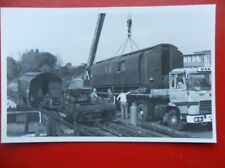 POSTCARD RP LONDON UNDERGROUND SCRAPPED 1927 STOCK AT ACTON WORKS