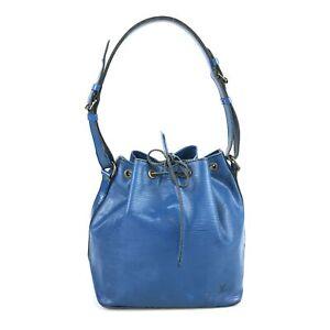100% authentic Louis Vuitton Puchinoe epi shoulder bag M44104 Used 123-2-ab