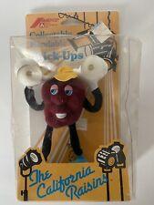 California Raisins collectable bendable stick-ups vintage
