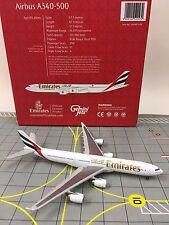 Gemini Jets 1:400 GJUAE1039 Emirates Airbus A340-500 A6-ERJ
