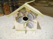 Decorative Wooden Painted Birdhouse