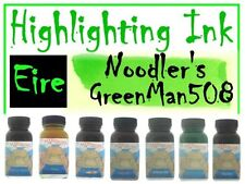 Noodlers Ink 3 Oz Highlighter St Pattys Eire