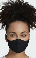 Adidas Face Cover Mask Breathable Brand New Reusable Size XSmall / Small Black