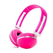 Adjustable Over-Ear Matte Funky DJ Headphones iPod iPhone for Kids Childs Girls