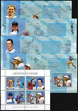 Congo 2006 Belgish Sports Table Tennis Cycling 5 S/S MNH**