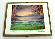 Rob Alexander UNDERGROUND SEA 1993 OFFICIAL SIGNED ART PRINT WOTC MTG MAGIC