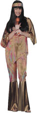 Babe 60's 70's Singer Cher Groovy Hippie Woodstock Adult Womens Costume Small