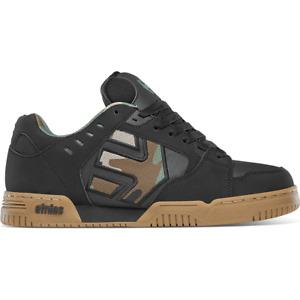 Etnies Skateboard Shoes Faze Black/Camo Mens