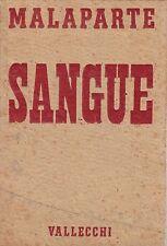 Malaparte, Sangue, Vallecchi, 1954, racconti