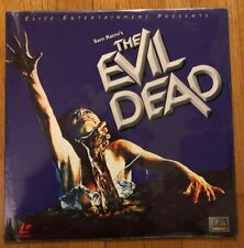 The Evil Dead  1982 Laserdisc LD NEW Still Sealed Bruce Campbell Sam Raimi Elite