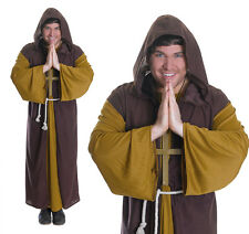 Mens Friar Tuck Fancy Dress Costume Robin Hood Monk Stag Do Outfit