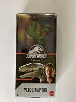 "Jurassic World Velociraptor Green  6"" DINO RIVALS Figure  Raptor."