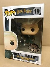 FUNKO POP! Harry Potter DRACO MALFOY QUIDDITCH #19 Exclusive Vinyl Figure NEW