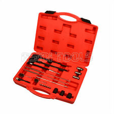 Injector Seat & Manhole Cleaning Set Seat Cutters Guide Seal Puller Brushes