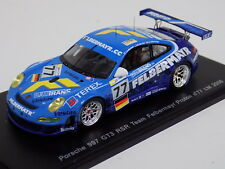 "1/43 Spark Porsche 911 ""997"" GT3 RSR  car #77  2008 24 Hours of LeMans S1909"