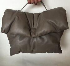CELINE PARIS Cartable Supersoft Lambskin Medium Grey Pillow Bag $ 3,100 New SALE