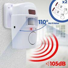 Tür Alarm Anlage Sicherheit System Bewegung Melder Sensor Funk 105 dB Sirene