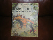 LE CHAT BOTTE + LA BARBE BLEUE - PIERRE ROUSSEAU - EDITIONS DELAGRAVE 1947