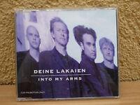 Radio PROMO 2 Track Maxi CD Deine Lakeien : Into my arms / Derek von Krogh Mix