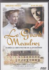 DVD DOUBLE LE GRAND MEAULNES + LA FILLE AUX YEUX D'OR