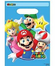 SUPER MARIO BIRTHDAY LOLLY LOOT BAGS FAVOR DECORATION PARTY SUPPLY Pk 8