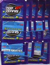 50 SEALED / UNOPENED STICKER PACKS TOP TENNIS ATP - DJOKOVIC, FEDERER, MURREY