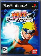 PS2 Naruto Uzumaki Chronicles (2007), UK Pal, New & Sony Factory Sealed