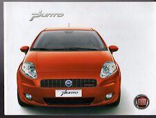 FIAT GRANDE PUNTO 2006-07 UK Mercato Opuscolo Attivo Dinamico eleganza sportiva
