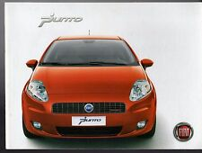 Fiat Grande Punto 2006-07 UK Market Brochure Active Dynamic Eleganza Sporting