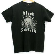 Black Sabbath Vintage Thin Shirt Rare Size XL Black Vtg B.V.D. Single Stitch