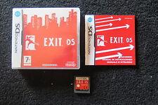 DS : EXIT DS - Completo, ITA ! C'è sempre una via d'uscita ! Comp 3DS e 2DS